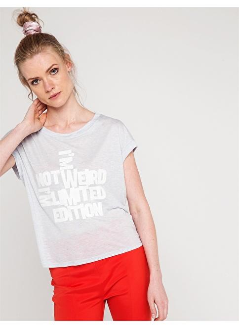 Love'n Fashion Paris Tişört Mavi
